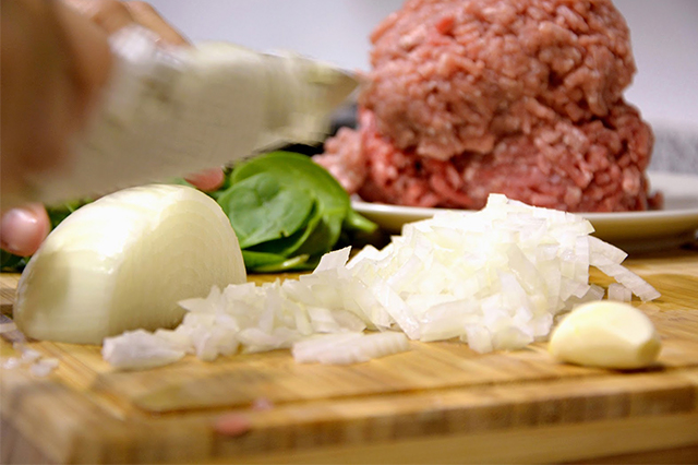 receta de pimientos rellenos de carne picada