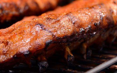 Costillas de cerdo a la barbacoa